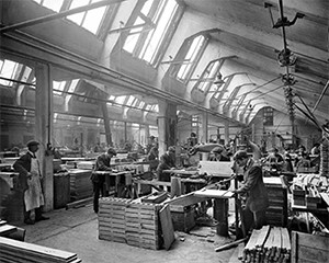 Waring and Gillow Factory Image