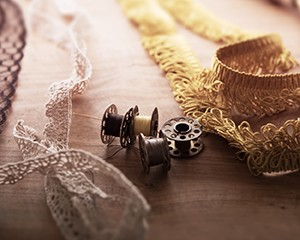 Lace and Bobbins Image