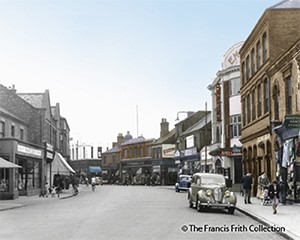 Long Eaton High Street 1950s